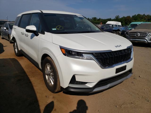 KIA Carnival L salvage cars for sale: 2022 KIA Carnival L