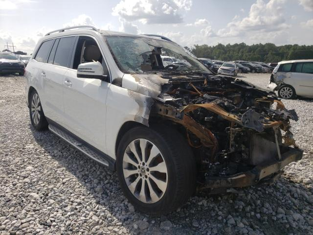 Salvage cars for sale from Copart Loganville, GA: 2017 Mercedes-Benz GLS 450 4M