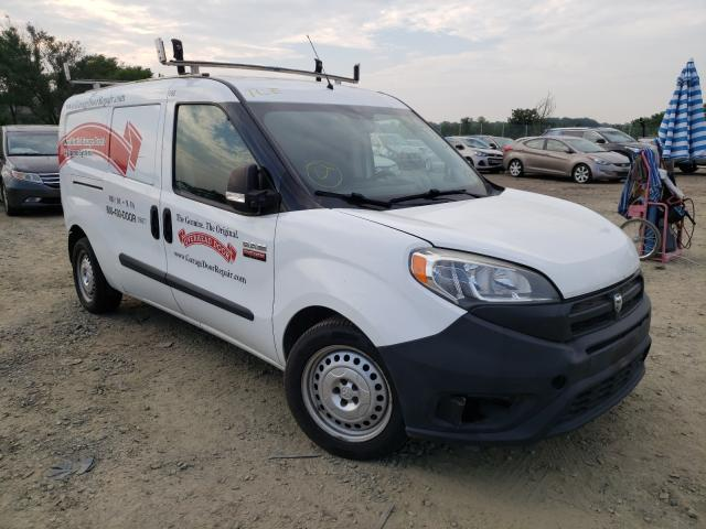 Salvage cars for sale from Copart Baltimore, MD: 2016 Dodge RAM Promaster