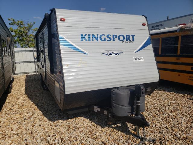 Gulf Stream salvage cars for sale: 2019 Gulf Stream Kingsport