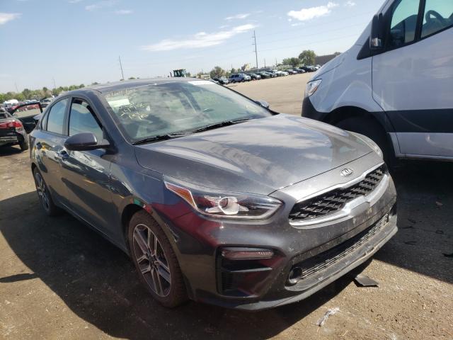 KIA salvage cars for sale: 2019 KIA Forte GT L