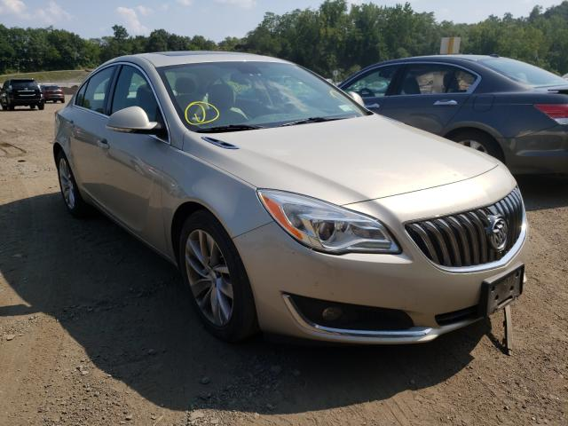 Salvage cars for sale from Copart Marlboro, NY: 2016 Buick Regal