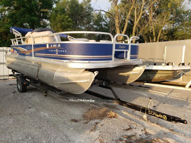 Suntracker salvage cars for sale: 2014 Suntracker Fish Barge