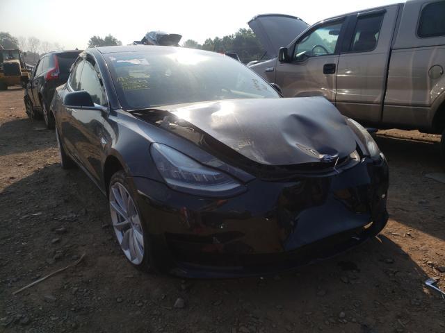 Tesla salvage cars for sale: 2018 Tesla Model 3