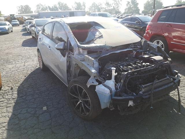 KIA salvage cars for sale: 2014 KIA Rio LX