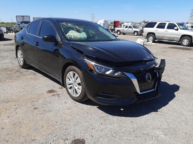 Salvage cars for sale at Tucson, AZ auction: 2021 Nissan Sentra S