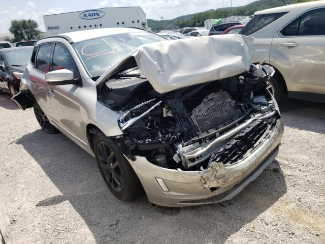 Salvage cars for sale from Copart Tulsa, OK: 2017 Volvo XC60 T5