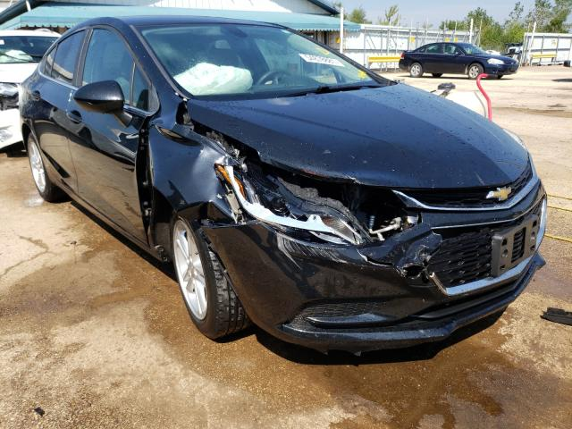 Salvage cars for sale from Copart Pekin, IL: 2017 Chevrolet Cruze LT