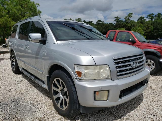Salvage cars for sale from Copart Houston, TX: 2008 Infiniti QX56