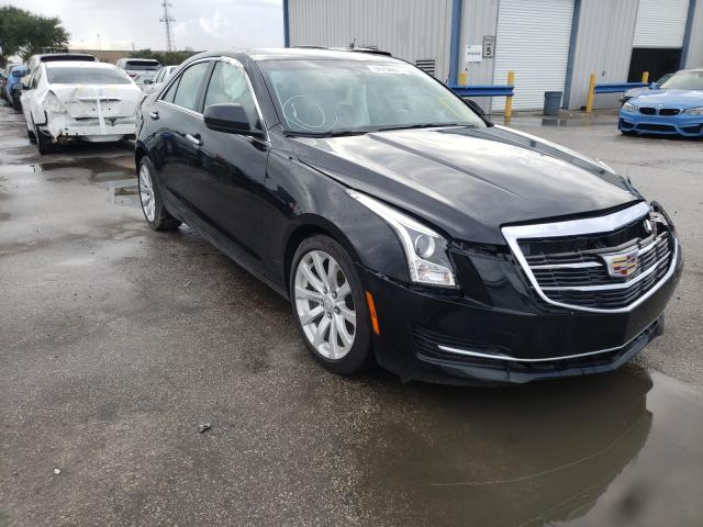 Salvage cars for sale from Copart Orlando, FL: 2017 Cadillac ATS