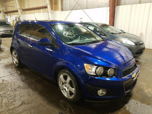 Salvage cars for sale at Anchorage, AK auction: 2013 Chevrolet Sonic LTZ