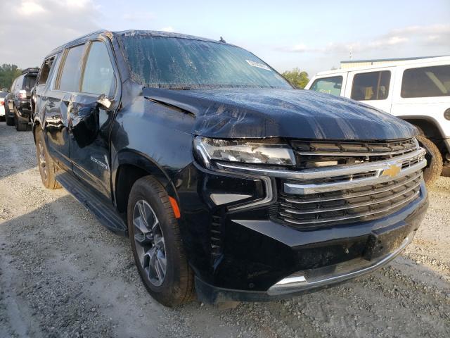 Vehiculos salvage en venta de Copart Spartanburg, SC: 2021 Chevrolet Suburban K