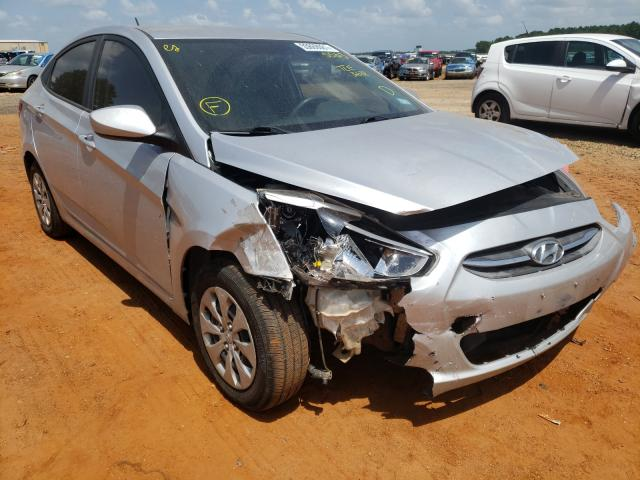 Salvage cars for sale from Copart Longview, TX: 2017 Hyundai Accent SE