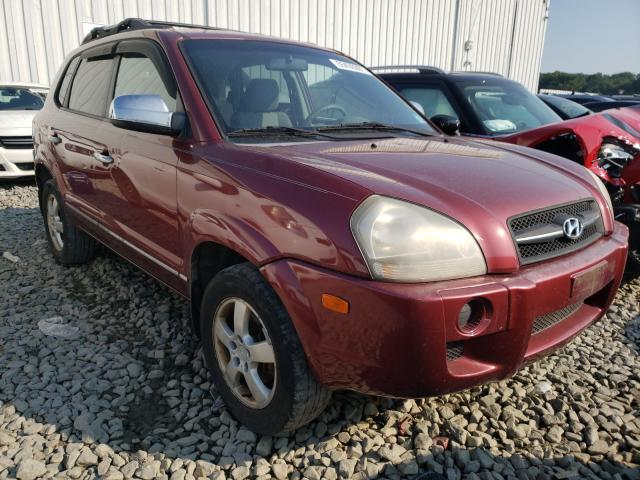 Salvage cars for sale from Copart Chambersburg, PA: 2006 Hyundai Tucson GL