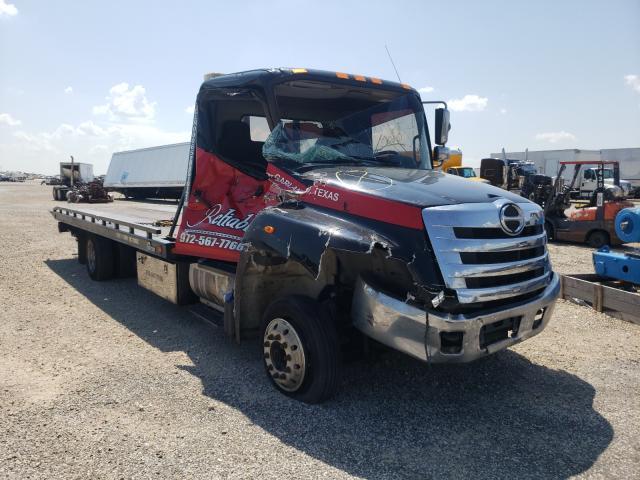 Vehiculos salvage en venta de Copart Wilmer, TX: 2017 Hino 258 268