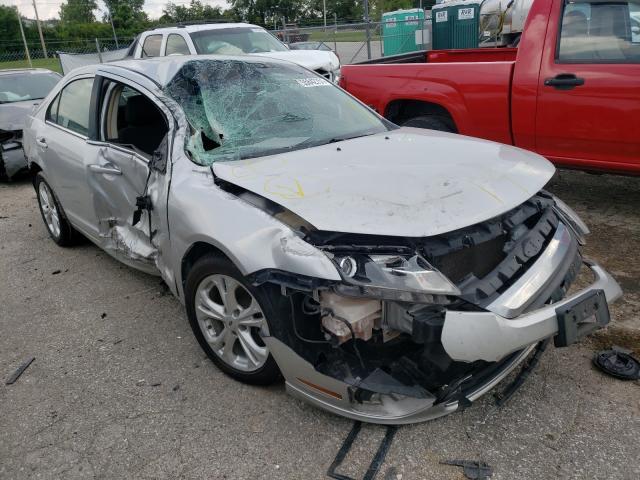 Salvage cars for sale at Bridgeton, MO auction: 2012 Ford Fusion SE