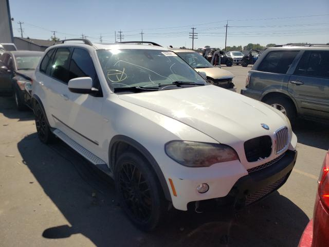 Salvage cars for sale at Nampa, ID auction: 2008 BMW X5 4.8I