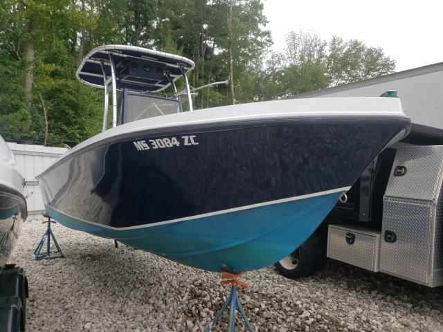 Salvage boats for sale at Warren, MA auction: 1984 Mako Marine Lot