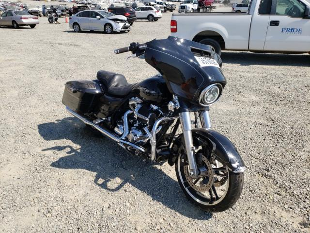 Salvage cars for sale from Copart Antelope, CA: 2015 Harley-Davidson Flhxs Street