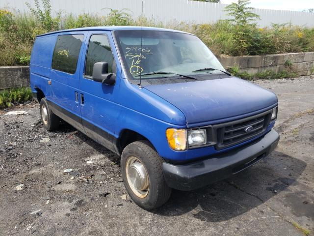 Vehiculos salvage en venta de Copart Marlboro, NY: 2003 Ford Econoline