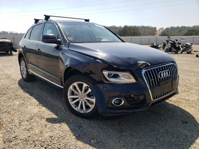 Salvage cars for sale from Copart Anderson, CA: 2013 Audi Q5 Premium