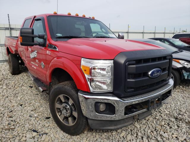 Salvage cars for sale from Copart Appleton, WI: 2012 Ford F350 Super