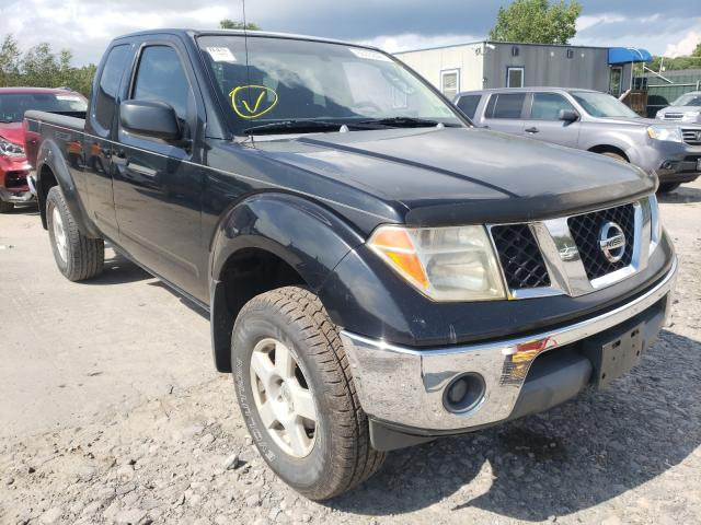 Salvage trucks for sale at Duryea, PA auction: 2005 Nissan Frontier K