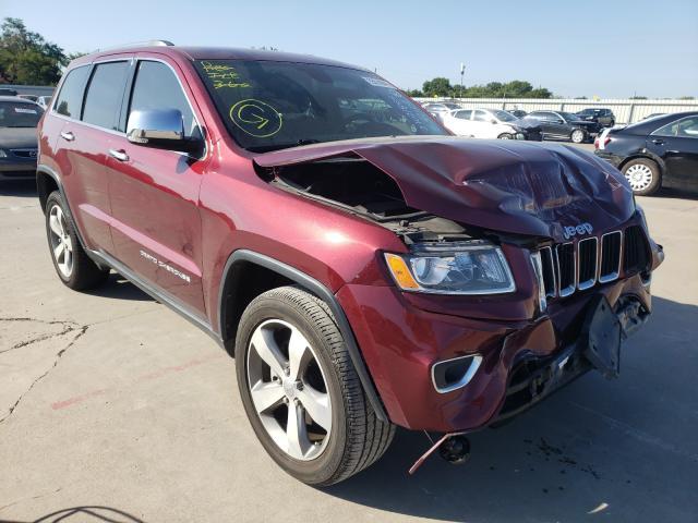 Vehiculos salvage en venta de Copart Wilmer, TX: 2016 Jeep Grand Cherokee