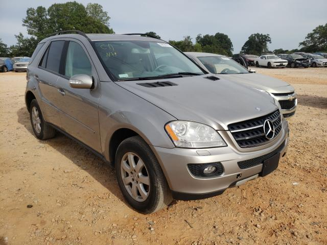 Salvage cars for sale from Copart China Grove, NC: 2007 Mercedes-Benz ML 320 CDI