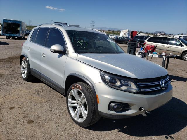 Salvage cars for sale at Tucson, AZ auction: 2012 Volkswagen Tiguan S