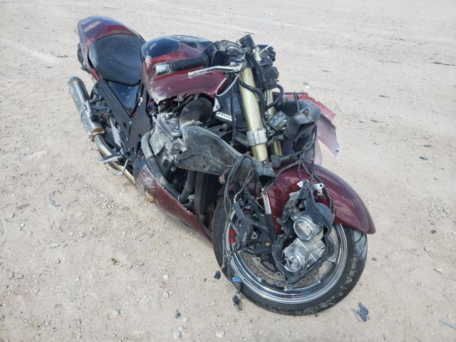 Salvage cars for sale from Copart Andrews, TX: 2008 Kawasaki ZX1400 C