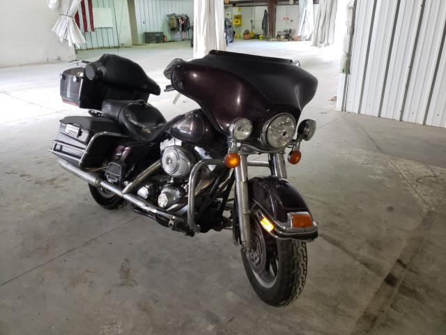 Salvage cars for sale from Copart Leroy, NY: 2006 Harley-Davidson Flhtci