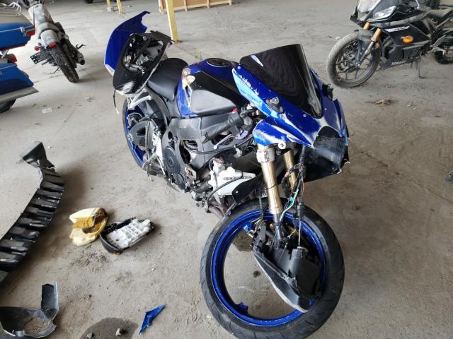 Salvage motorcycles for sale at Corpus Christi, TX auction: 2006 Suzuki GSX-R600 K