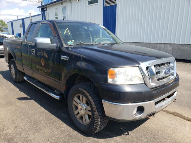 Salvage cars for sale at Moncton, NB auction: 2008 Ford F150