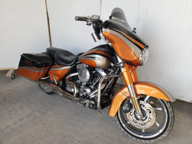 Salvage cars for sale from Copart Des Moines, IA: 2011 Harley-Davidson FLHXSE2