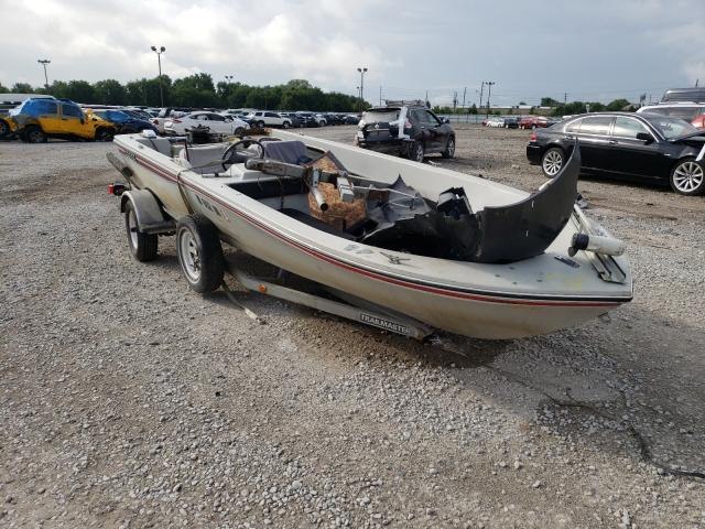 Boat salvage cars for sale: 1983 Boat W Trailer
