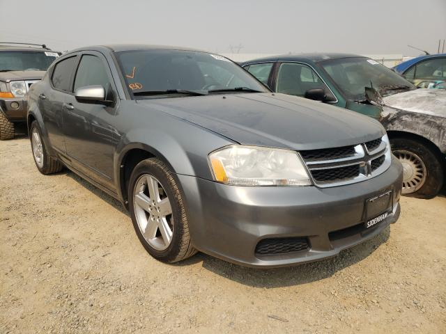 Salvage cars for sale from Copart Anderson, CA: 2011 Dodge Avenger MA