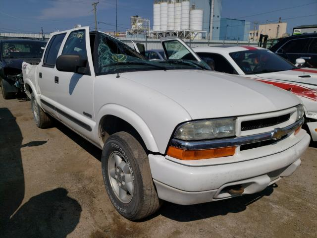 Salvage cars for sale from Copart Chicago Heights, IL: 2004 Chevrolet S Truck S1