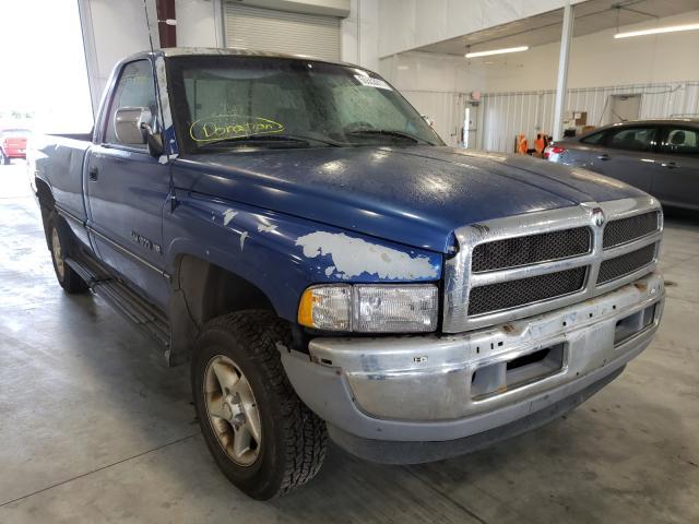 Vehiculos salvage en venta de Copart Avon, MN: 1997 Dodge RAM 1500