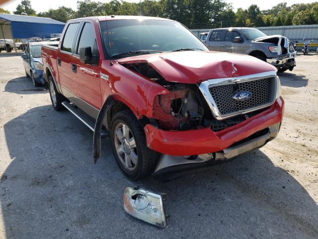 Salvage trucks for sale at Rogersville, MO auction: 2006 Ford F150 Super