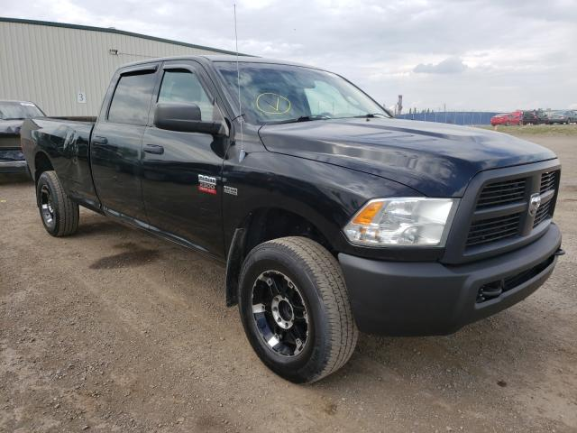 Salvage cars for sale from Copart Rocky View County, AB: 2012 Dodge RAM 2500 S