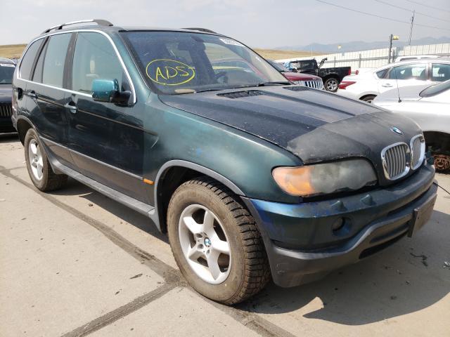 BMW X5 salvage cars for sale: 2000 BMW X5