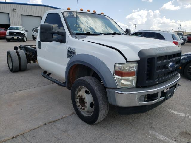 Salvage trucks for sale at Oklahoma City, OK auction: 2008 Ford F550 Super