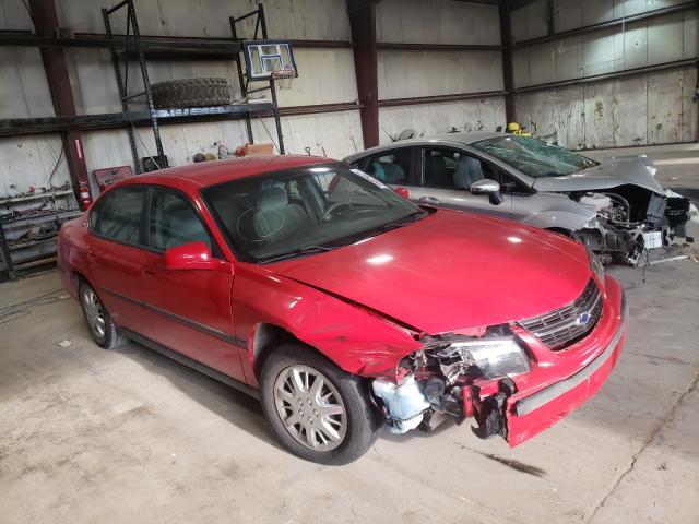 Salvage cars for sale at Eldridge, IA auction: 2004 Chevrolet Impala