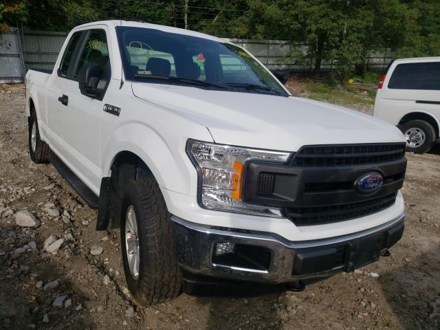 Salvage cars for sale from Copart Mendon, MA: 2018 Ford F150 Super