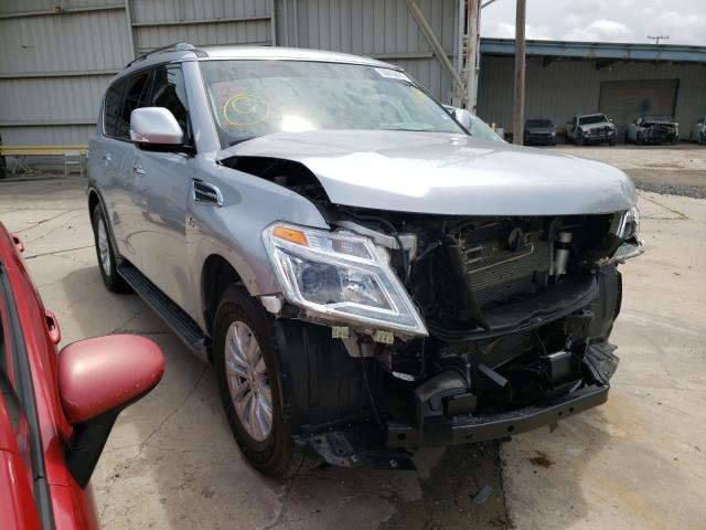Salvage cars for sale from Copart Corpus Christi, TX: 2019 Nissan Armada SV
