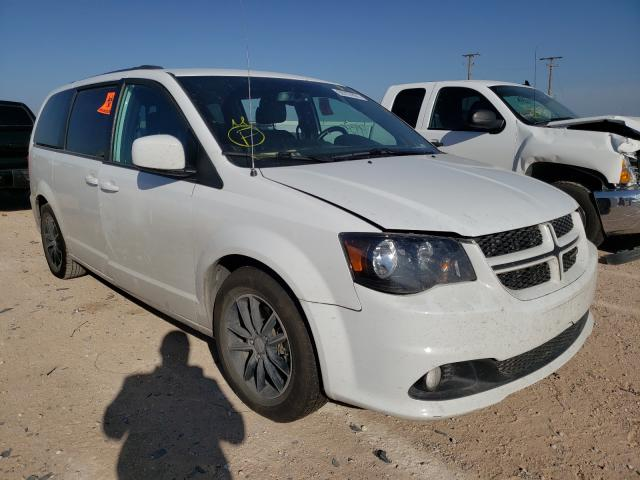 Salvage cars for sale from Copart Andrews, TX: 2018 Dodge Grand Caravan