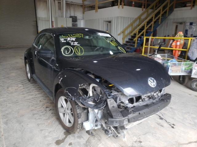 Salvage cars for sale from Copart Kansas City, KS: 2016 Volkswagen Beetle 1.8
