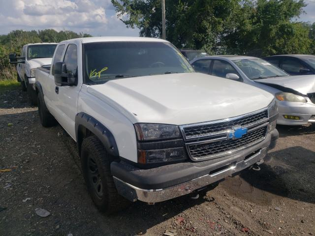 Salvage cars for sale from Copart Baltimore, MD: 2006 Chevrolet Silverado