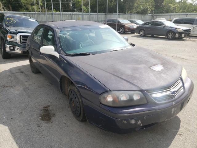 Chevrolet Impala salvage cars for sale: 2001 Chevrolet Impala